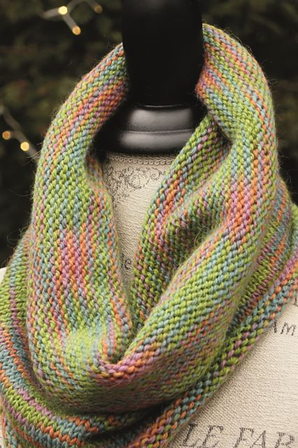 Ravelry: Stocking Stitch Swatch Cowl pattern by Anne Featonby