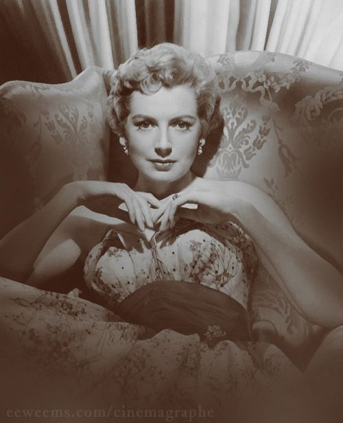 Personally, I think if a women hasn't met the right man by the time she's 24, she may be lucky.  - Deborah Kerr