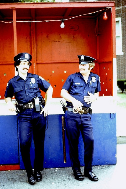 1970s NYC Cops Photographer Unknown Policemen New York City Vintage 35mm slide by Christian Montone on Flickr.