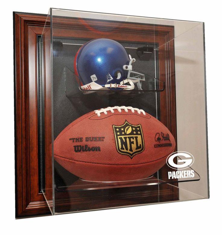 Green Bay Packers Mini Helmet and Football âœCaseUpâ