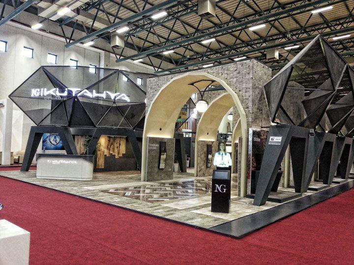 NG Kütahya Seramik – Unicera 2013 Exhibition Stand by SKM Projects+, Istanbul