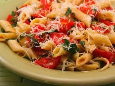 Feta, Olive and Tomato Pasta Salad