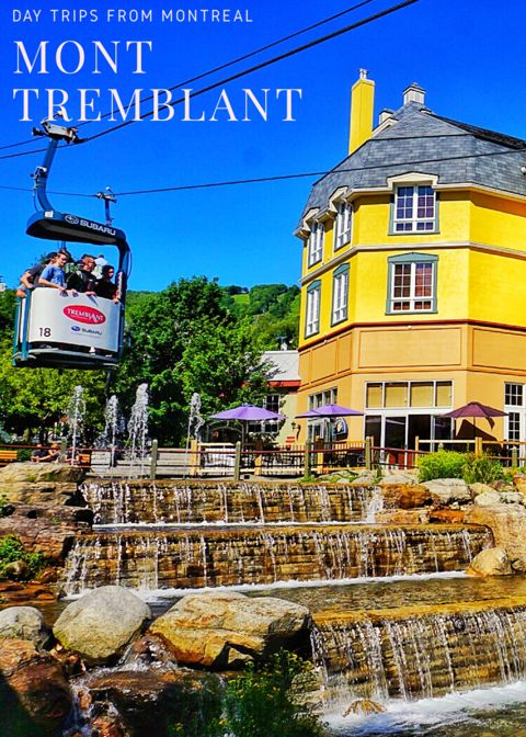 Mont Tremblant is a popular winter and summer destination near Montreal. Visit Montreal and its surroundings with this guide of the best things to do around Montreal.