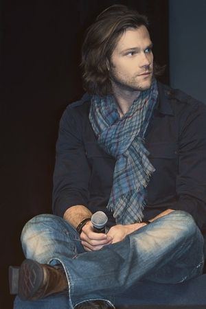 Don't you just wanna run your hands through his hair?? Jared Padalecki #Supernatural