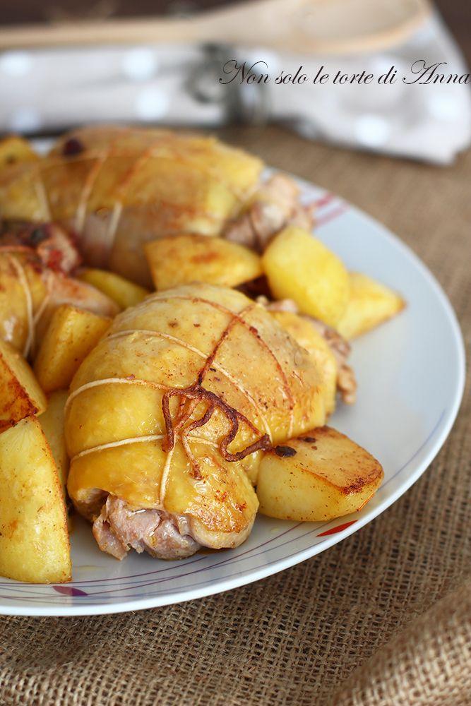 Nuova e sfiziosa ricetta nel mio blog,  le cosce di pollo farcite sono gustosissime!!! #Letortedianna #gialloblog #foodblog