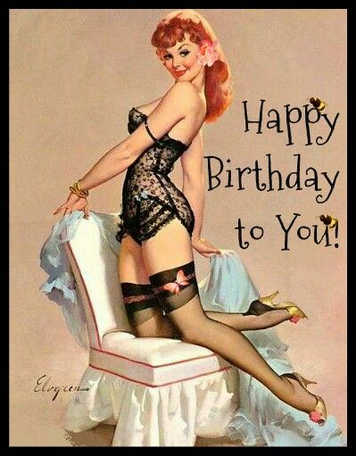 Happy Birthday pinup