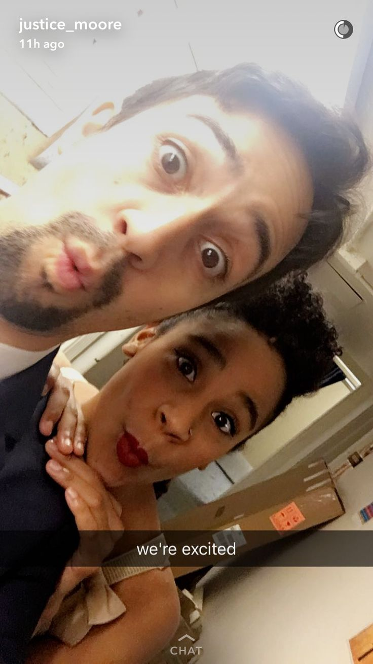 Lin and Justice, on #HamiltonCHI's opening night