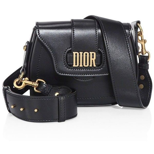 Dior Medium D-Fence Leather Saddle Bag (€2.540) ❤ liked on Polyvore featuring bags, handbags, shoulder bags, leather saddle bag purse, leather purses, real leather handbags, christian dior handbags and genuine leather purse