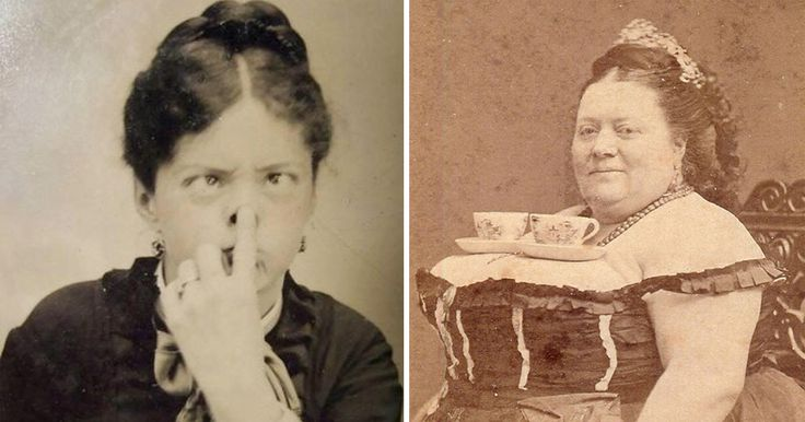 We often think of the Victorian era, (the period of Queen Victoria's reign, from 1837 to 1901), as a time when everything was Serious. Victorian people had to follow strict etiquette covering every part of life, with so no room for fun of any kind. And we might think because of the era's photography. Back...