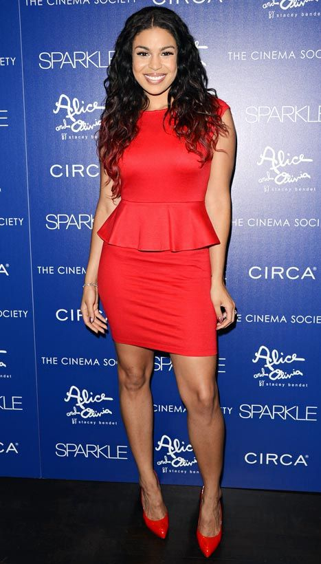 """Jordin Sparks attends the screening of """"Sparkle"""" on August 14, 2012 in New York City."""