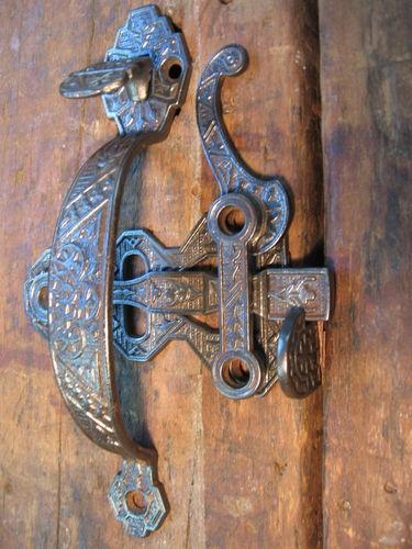 Antique Victorian Thumb Latch Set Antique Door Hardware