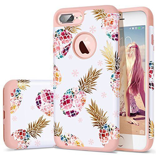 iPhone 7 Plus Case,iPhone 8 Plus Case Pineapple,Fingic Floral Pineapple Ultra Slim Case Hard PC Soft Rubber Anti-Scratch ShockProof Protective Case Cover for iPhone 7/8 Plus  https://topcellulardeals.com/product/iphone-7-plus-caseiphone-8-plus-case-pineapplefingic-floral-pineapple-ultra-slim-case-hard-pc-soft-rubber-anti-scratch-shockproof-protective-case-cover-for-iphone-7-8-plus/  Pineapple Pattern case designed for Apple iPhone 8 Plus/iPhone 7 Plus (5.5 inch)only, Not comp #iphone7deals,