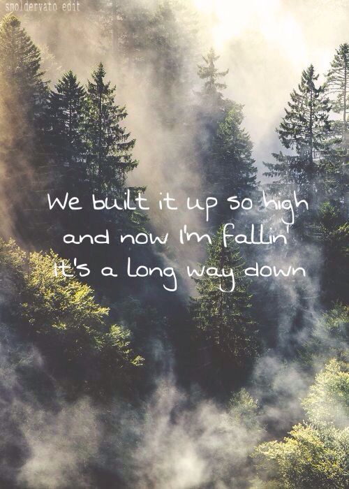 Long way down song lyrics by One Direction album Made in the A.M