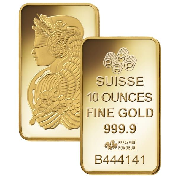 Buy 10 Oz Gold Bars Credit Suisse Gold Bars Money Metals Gold Price Chart Gold Bar Gold Coin Price