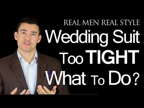 Attending A Wedding And My Best Suit Is Too Tight | Wedding Guest Male Style Tips | Fashion Advice