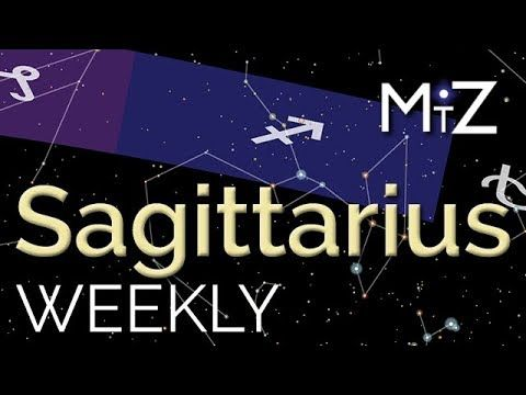 Sagittarius Weekly Horoscope - December 4th to 10th, 2017 - True Sidereal Astrology