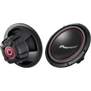 Pioneer Champion TS W304R Woofer 300 W RMS/1300 W PMPO Black Red