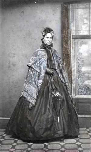 Anastasia Hayes, an Irish schoolteacher, was one of the seamstresses of the Eureka flag.
