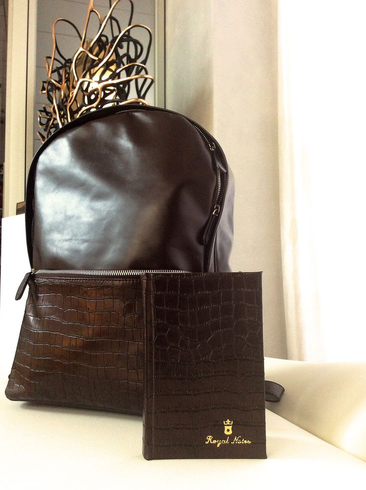 Create your matches. #Backpack and #blocknotes kaiman brown