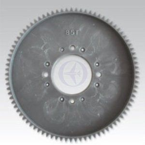 "Thunder Tiger AK0148 Main Spur Gear 85 Tooth R50 by Thunder tiger. $13.49. This is the 85T Main Spur Gear for the Thunder Tiger Raptor 50 Helicopters.FEATURES: Composite plastic construction Grey in colorINCLUDES: One 85T pinion gearREQUIRES: Installation into helicopterSPECS: Outer Diameter: 86.5mm (3.41"") Inner Diameter: 26mm (1.02"") Teeth: 85Thunder TigerPart TTRAK0148. Save 21%!"
