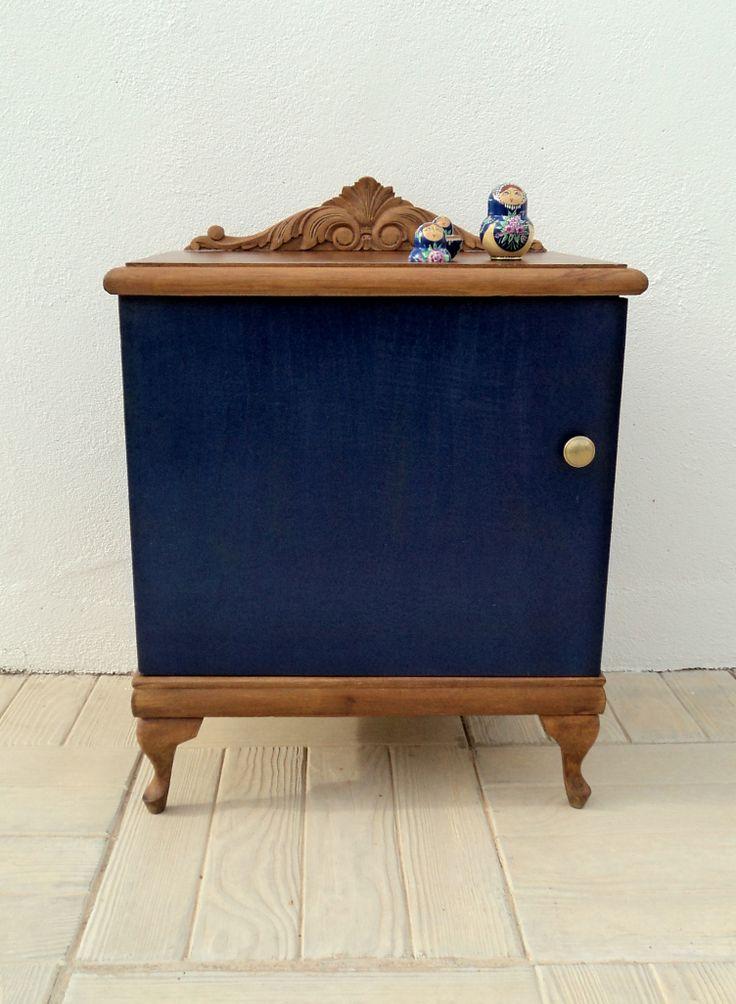 Mesilla azul marino, tinta, índigo Luniqueblog.com