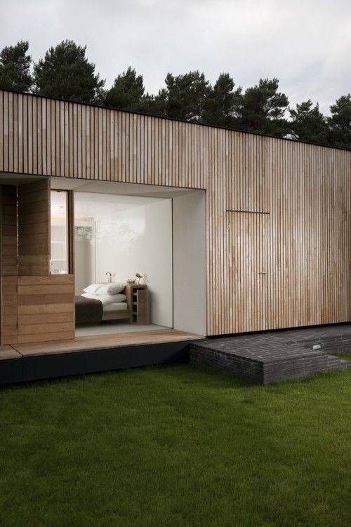 Timber + cladding
