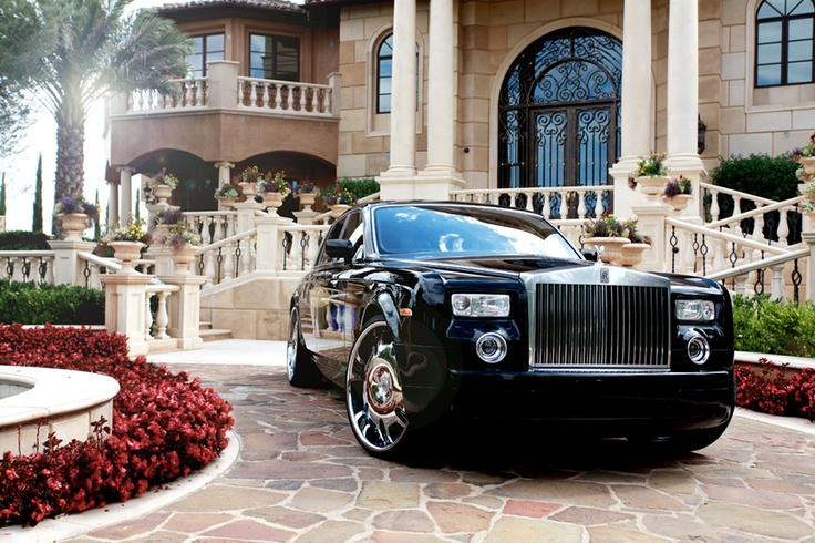 rolls royce phantom with lexani lx2 lexani vehicles. Black Bedroom Furniture Sets. Home Design Ideas