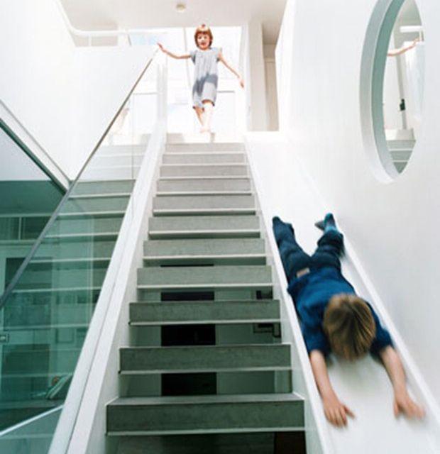 Slide... Stairs... SLIDE... STAIRS... SLIDE!