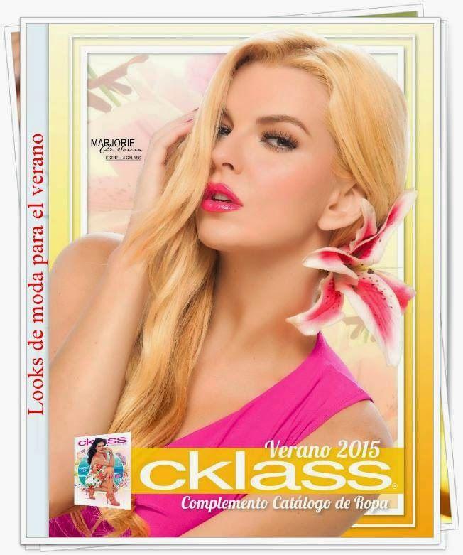 El Catalogo Cklass Verano 2015, trae ropa moda