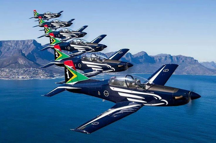 Silver Falcons Aerial Display South African Air Force