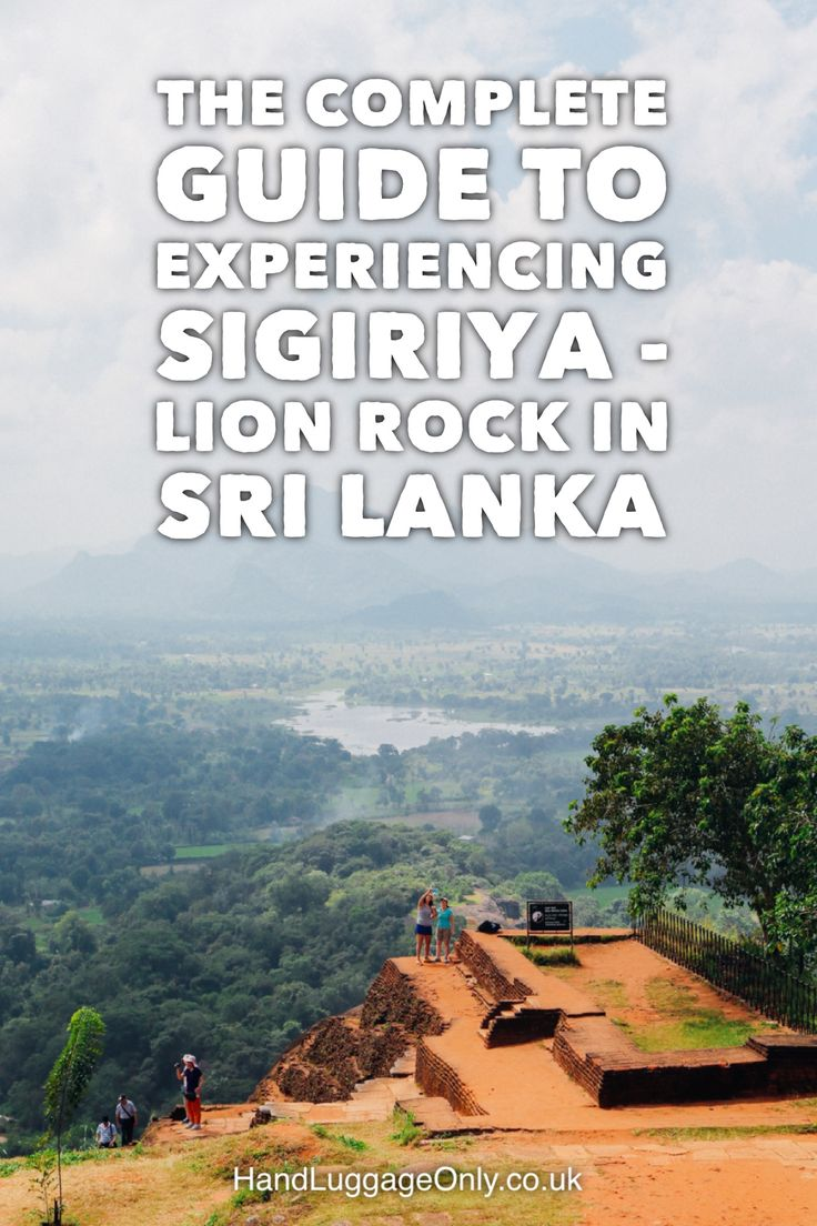 The Complete Guide To Climbing Sri Lanka's UNESCO World Heritage Site Of Sigiriya - Lion Rock