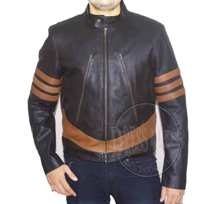 X Men Leather Jacket ALL SIZE AVAILABLE