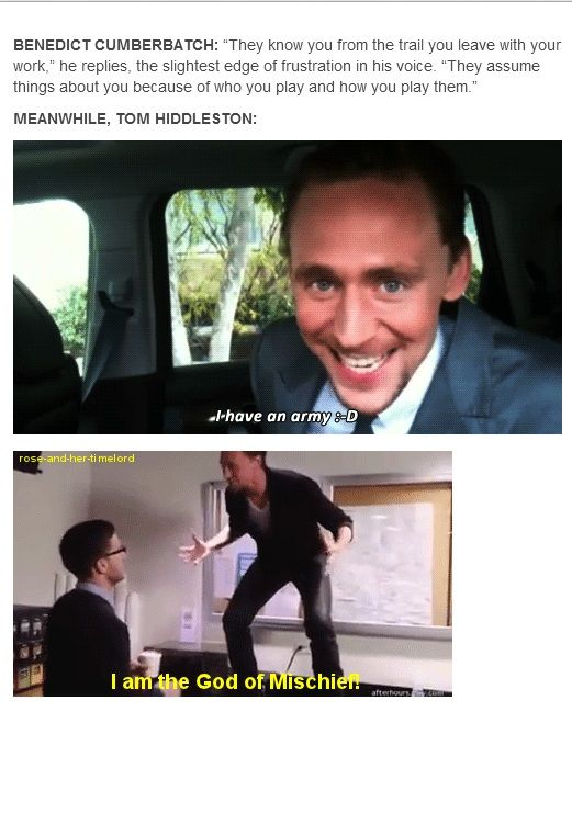 And then there is Tom...