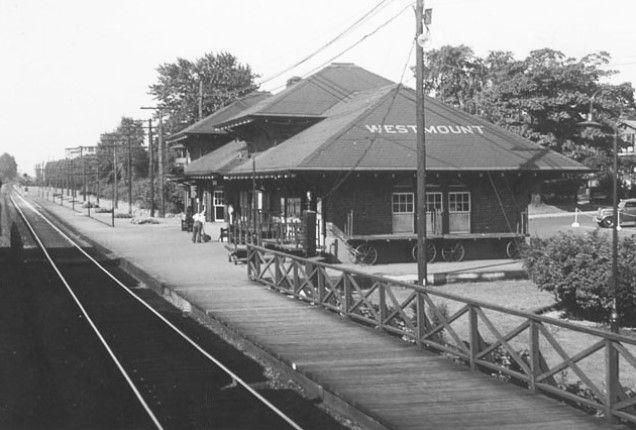 WESTMOUNT, Québec railway station - NYC, CPR