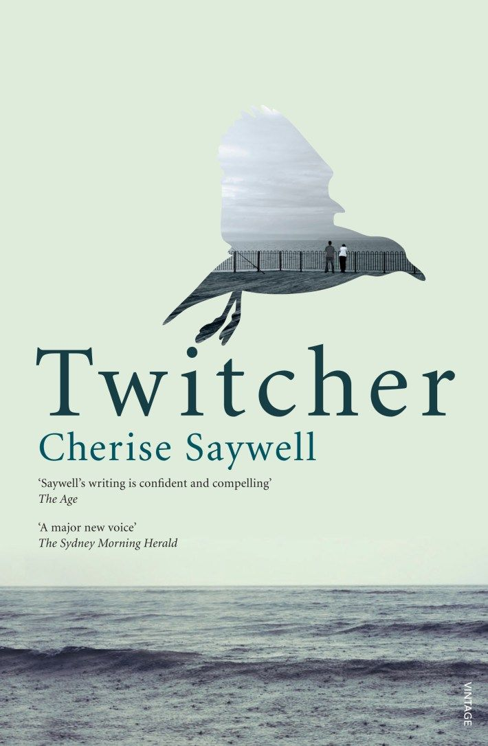 Twitcher, by Cherise Saywell. Cover design by Natalie Winter