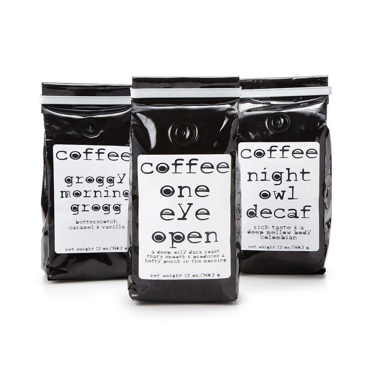 MORNING, NOON AND NIGHT COFFEE | dark roast coffee | UncommonGoods