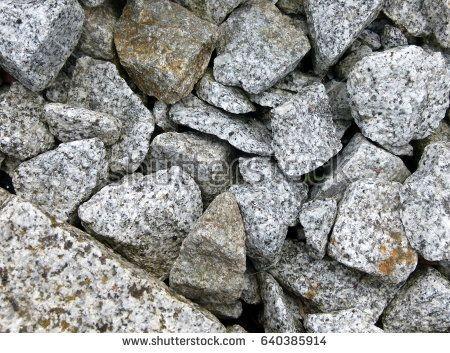 Granite crushed stone