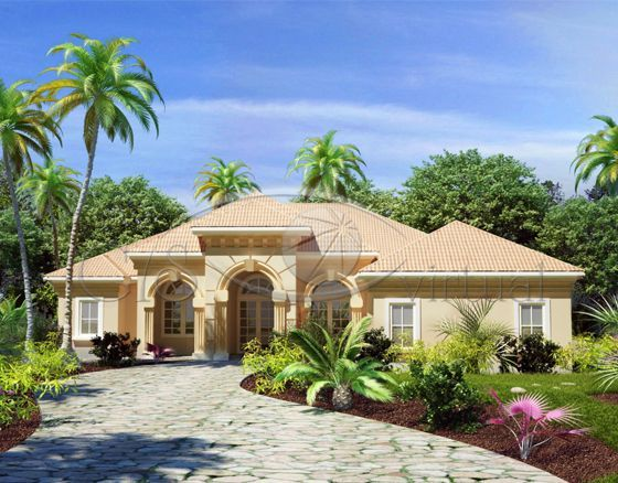 Mediterranean Style Homes Home And Mediterranean House Plans