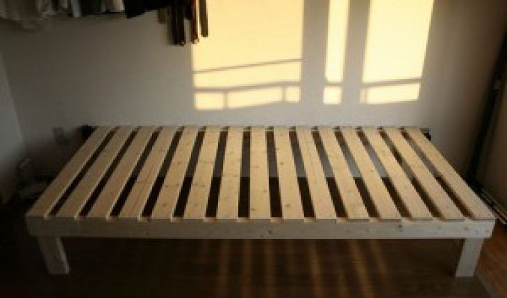 How To Build A Bed Frame Diy And Repair Guides In 2020 Simple