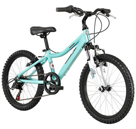 6. Diamondback Bicycles 2014 Lustre Girl's Mountain Bike (20-Inch Wheels)