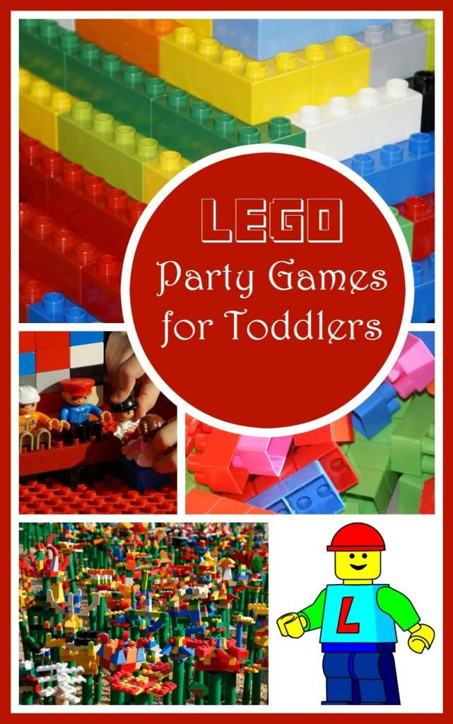 Let tiny tots in on building block mania with these Lego party games for toddlers! Just swap out the small blocks for larger Duplo blocks for safer fun!