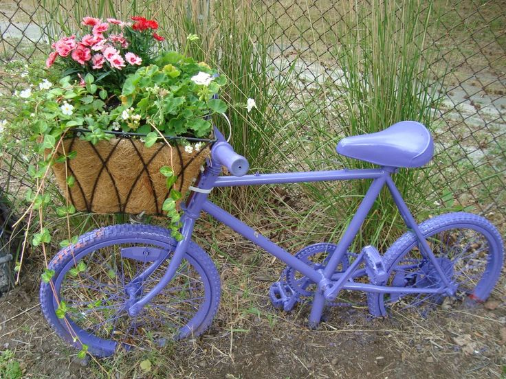 Good 25+ Trending Bike Planter Ideas On Pinterest | Bicycle Decor, Quirky Small  Garden Ideas And Quirky Patio Ideas
