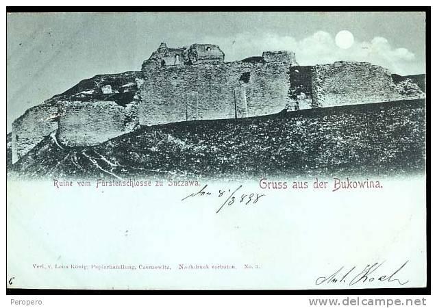 Suceava - Cetatea 1898