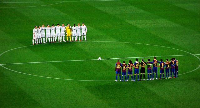 Football is a sport played by 22 players, 11 in each team.