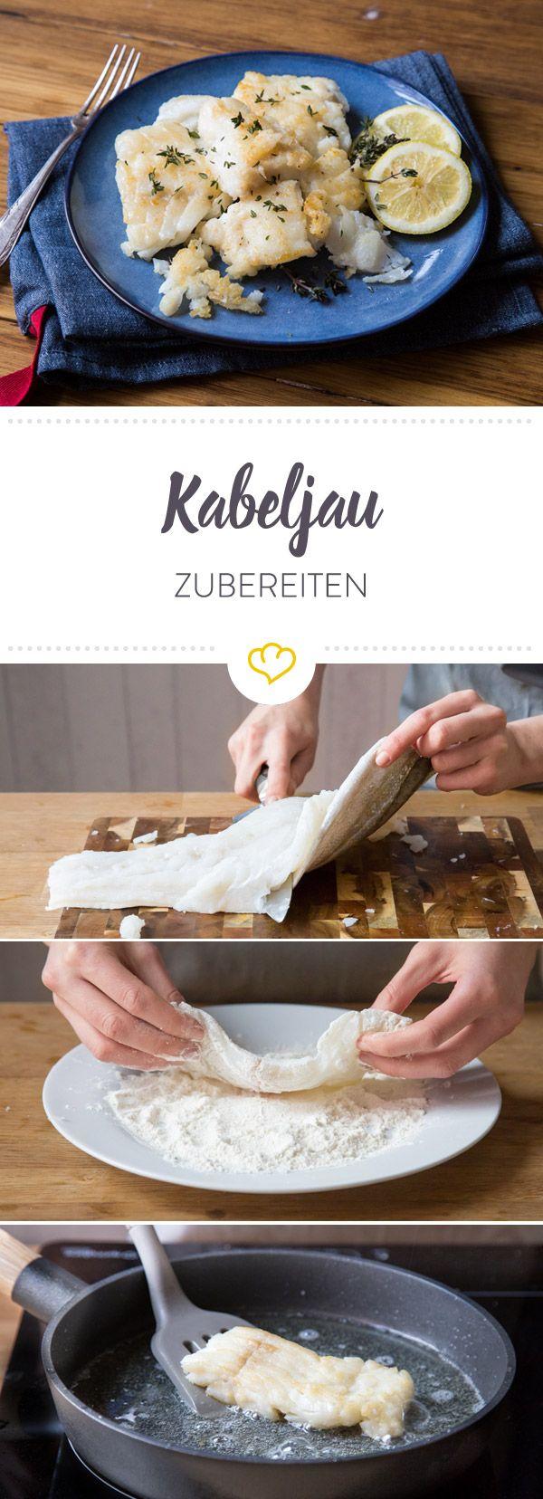Kabeljau gilt als echte Delikatesse. Hier erfährst du Zubereitungsmethoden und Wissenswertes rund um den zarten Fisch.