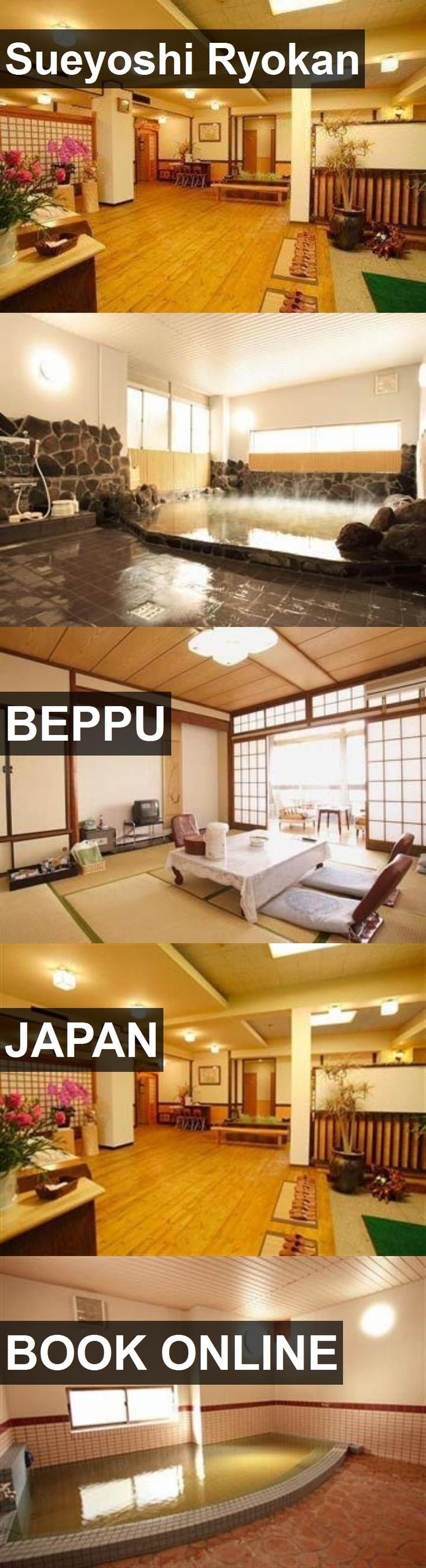 Hotel Sueyoshi Ryokan in Beppu, Japan. For more information, photos, reviews and best prices please follow the link. #Japan #Beppu #SueyoshiRyokan #hotel #travel #vacation