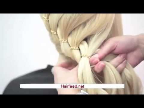 Arco Trenzado paso a paso | Bow Braid step by step ♥ Hairfeed - YouTube