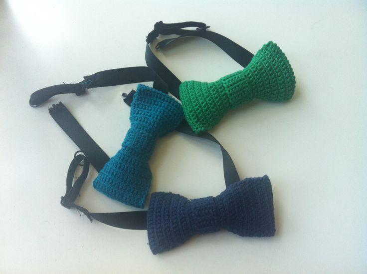 DIY crochet butterfly - hæklet butterfly