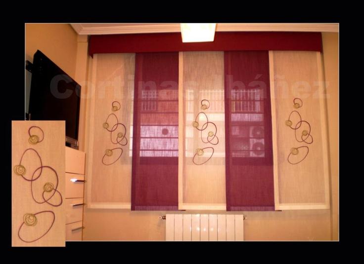 un ejemplo de japons corto de vas con gotera acolchada paneles bordados y