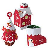 PAPERCRAFT KIT, PAPER TOY, PAPER MODEL: christmas